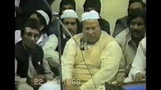 Banai Mujh Bay Nawa Ki Bigri Naseeb Mera Bana Diya By Nusrat Fateh Ali Khan