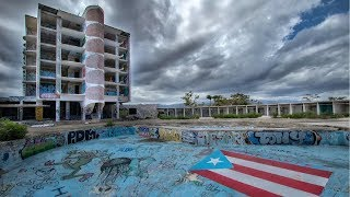 ABANDONED 1960's SPACE AGE RESORT PUERTO RICO