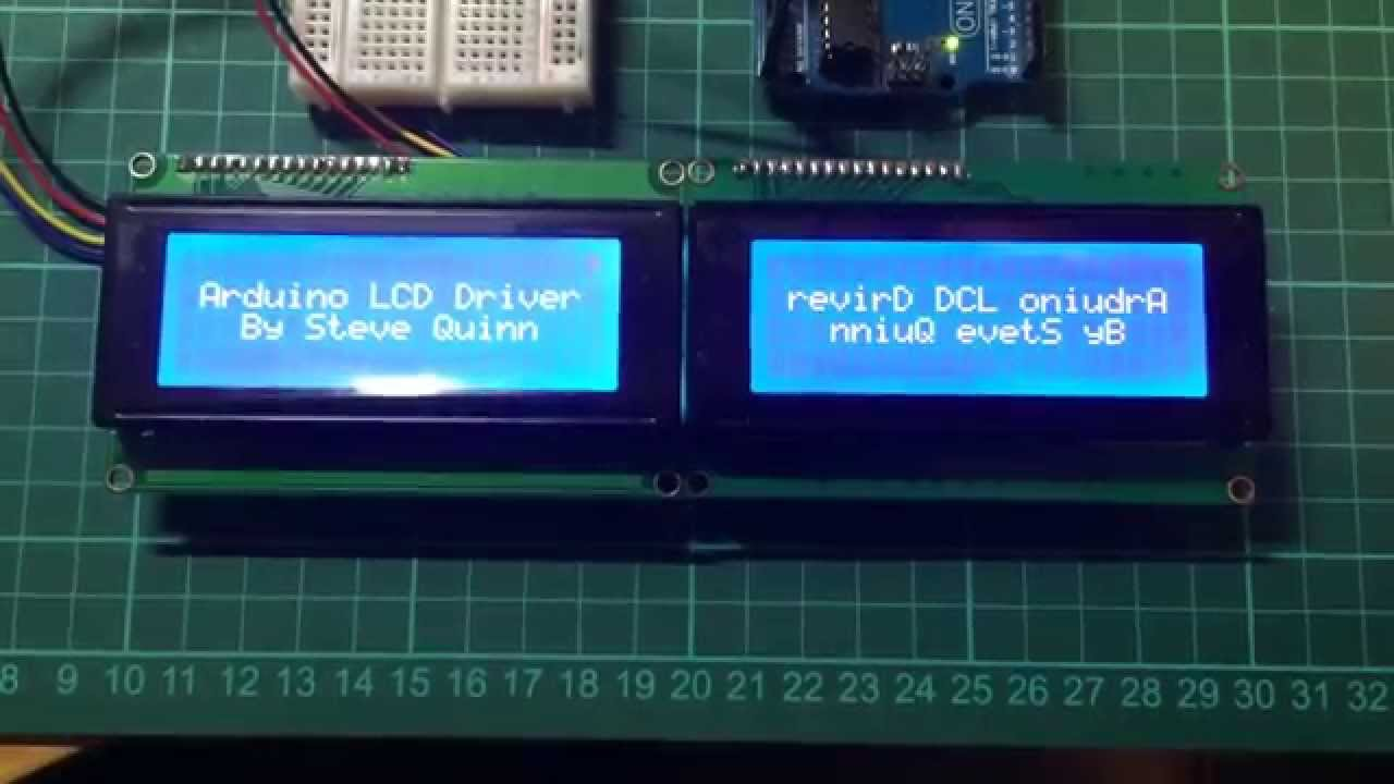 Arduino LCD Driver