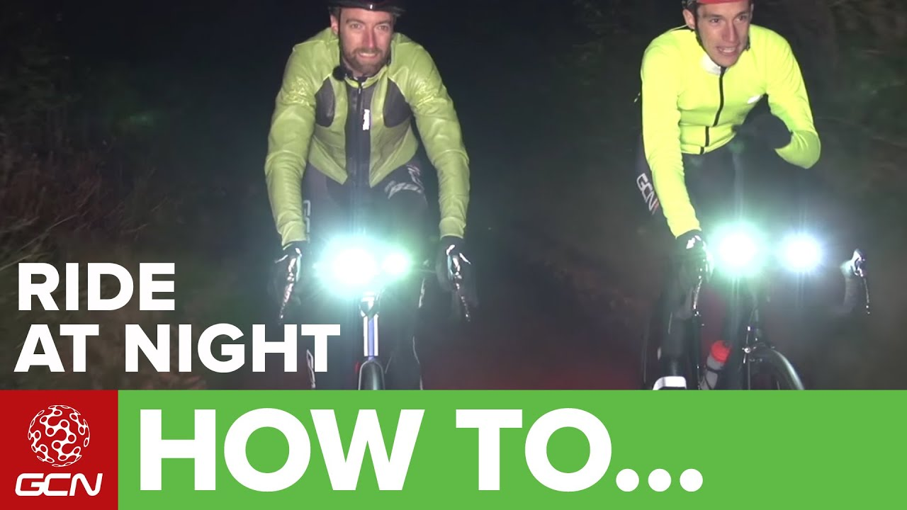 b9f1fdbd1 How To Ride Your Bike At Night – Guide To Lighting + Reflective Clothing -  YouTube