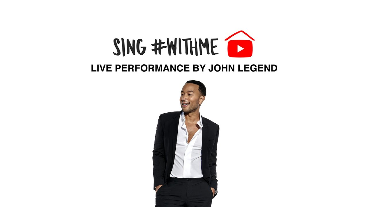 John Legend – #StayHome & Sing #WithMe (Live Performance)