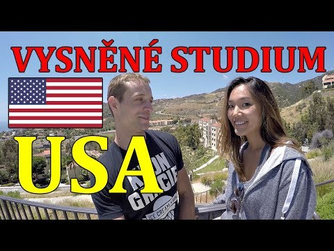 TOP Univerzita na MALIBU || TOUR s Americkou Studentkou!