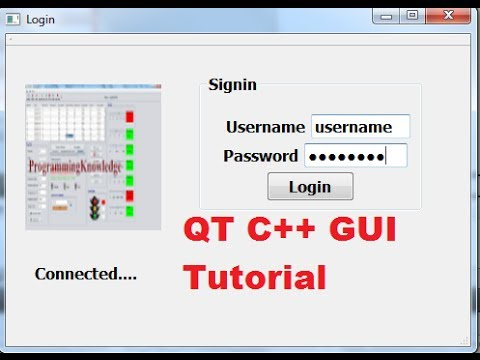 QT C++ GUI Tutorial 13- Creating connection open and close function with sqlite database