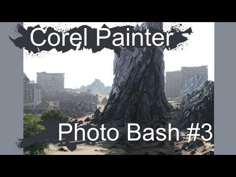 Corel Painter - Photo bash 3 (Davey Baker)