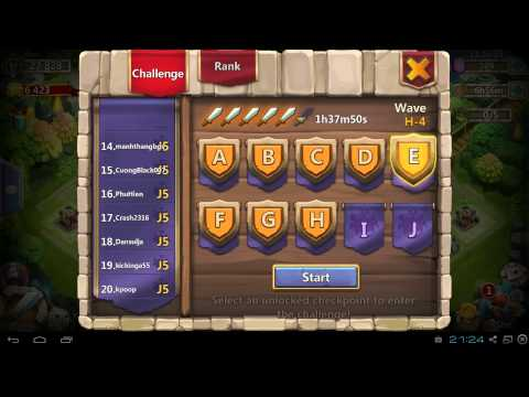 Castle Clash Hero Trials And Bluestacks Update