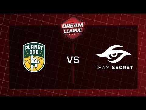 Planet Odd vs Secret - DreamLeague - S7 Semi Finals - G1