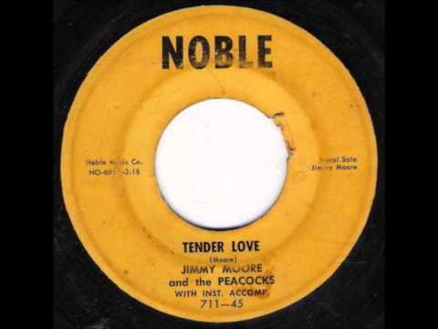 JIMMY MOORE & THE PEACOCKS - TENDER LOVE / I WANT YOU TO KNOW - NOBLE 711 - 1958 mp3