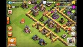 Clash of clans- introduzindo base