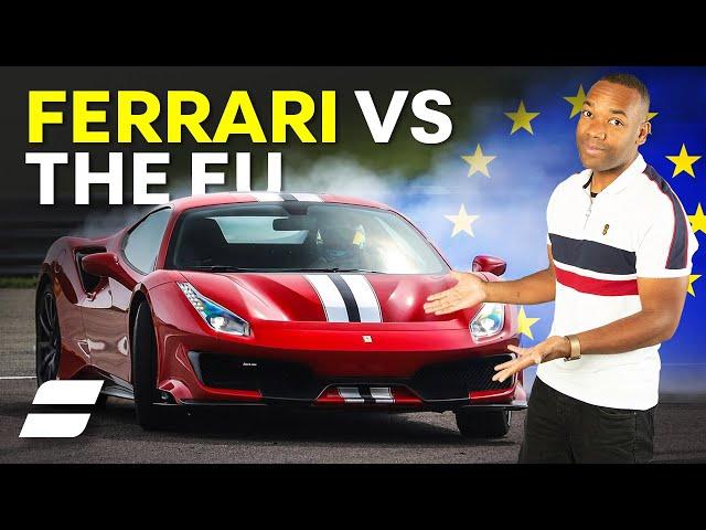 How Ferrari Avoids MASSIVE CO2 Fines From The EU