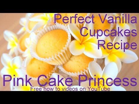 Vanilla Cupcakes Recipe! How to Make Vanilla Cupcakes Recipe Tutorial by Pink Cake Princess