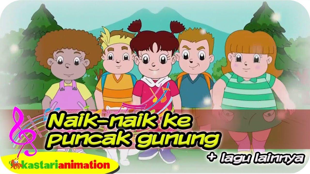 NAIK-NAIK KE PUNCAK GUNUNG bersama Diva dan Teman-teman | Kastari Animation Official