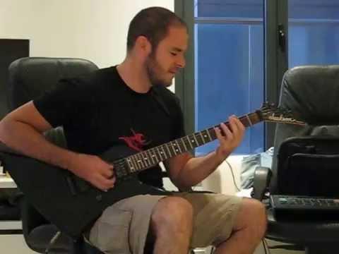 Annihilator  set the world on fire  guitar 1