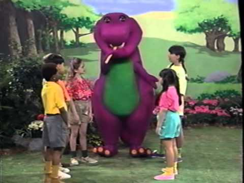 Barney's Campfire Sing Along Part 1 - YouTube