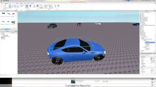 How to Make A Roblox Drift Car | Body and Wheels