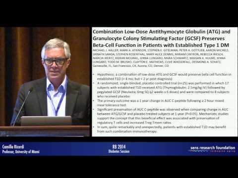 Cellular Therapies and Regenerative Medicine Strategies for Treatment of Diabetes - Camillo Ricordi