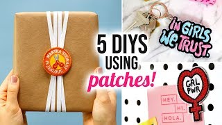 5 DIY Projects using Iron-On Patches (besides ironing them to your clothes!) - HGTV Handmade