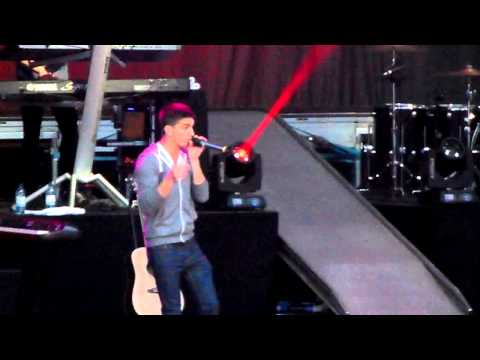 The Wanted - I Found You - Scarborough Open Air Theatre - 14.06.13