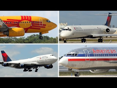 {TrueSound}™ 30 Minutes of Plane-Spotting at Ft. Lauderdale International Airport! 4/10/16