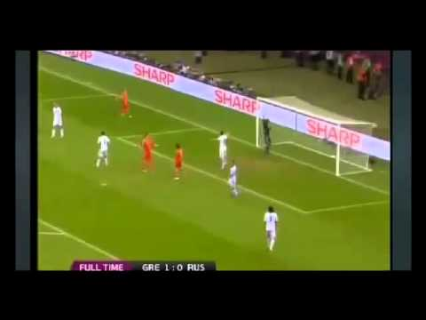 UEFA Euro 2012 Greece vs Russia   All Goals Highlights Greece Wins 1 0 16   06   2012