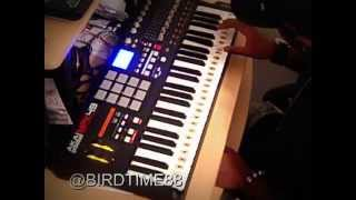SWV RAIN SAMPLE BEAT Akai MPK49 INSTRUMENTAL BY PRODUCER @BIRDTIME88 FL STUDIO 9