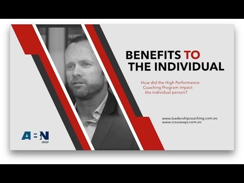 Benefits to the Individual