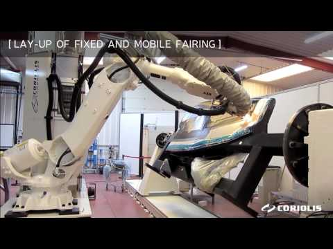 Coriolis Composites - LAY-UP OF FIXED AND MOBILE FAIRING (32)