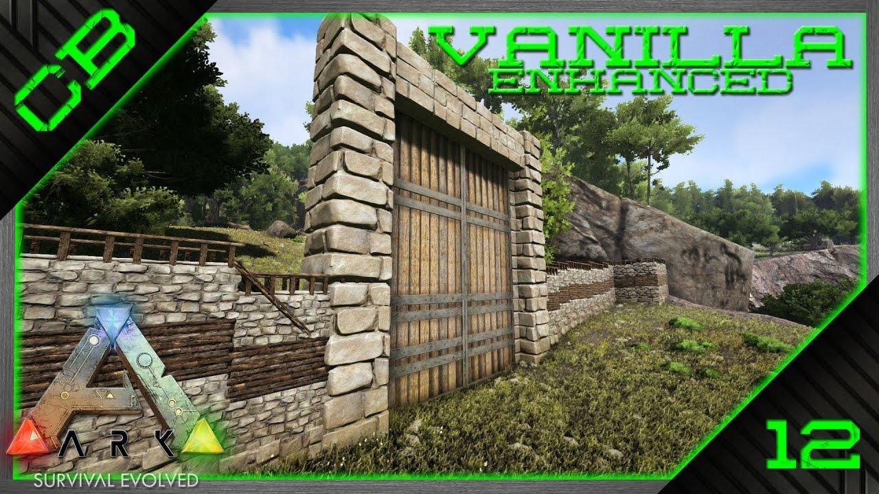 ark survival evolved vanilla gameplay building