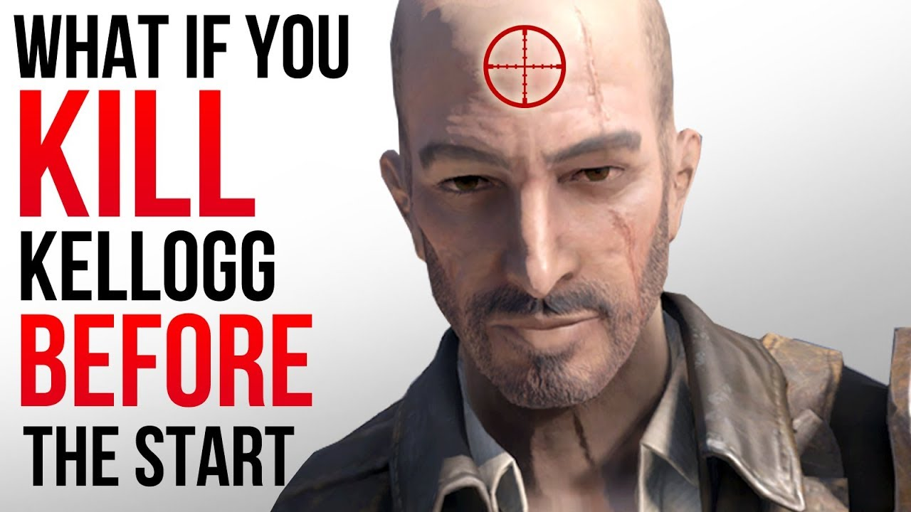 Fallout 4 - What Happens If You KILL Kellogg BEFORE he Kills Your Spouse?