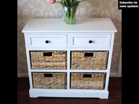 Wicker Storage Units With Drawers | Woven Storage & Baskets Collection