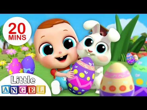 Baby's First Egg Hunt Song | Nursery Rhymes & Kids Songs - Little Angel