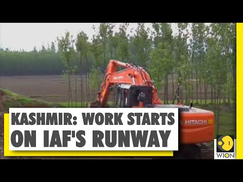 IAF runway being built in Anantnag district | Kashmir | NH-44