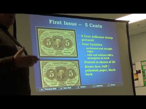 Fractional Currency by Dave & Pam Stitely - Wilmington Coin Club -  1/18 - Numismatics with Kenny