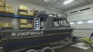 Kingfisher 2225 Escape fishing boat