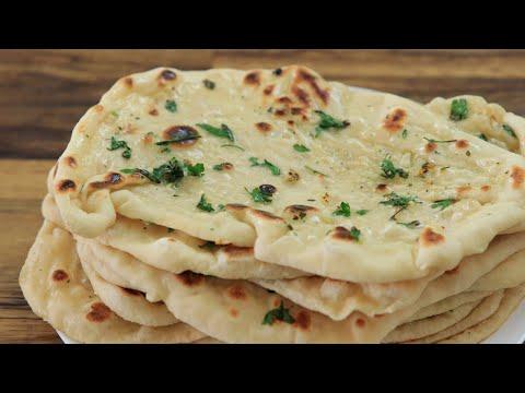 garlic-naan-bread-recipe- how-to-make-naan-bread