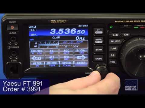 Universal-Radio presents the Yaesu FT-991 HF - UHF Transceiver