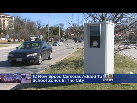 New Locations Added For Red Light, Speed Cameras In Baltimore
