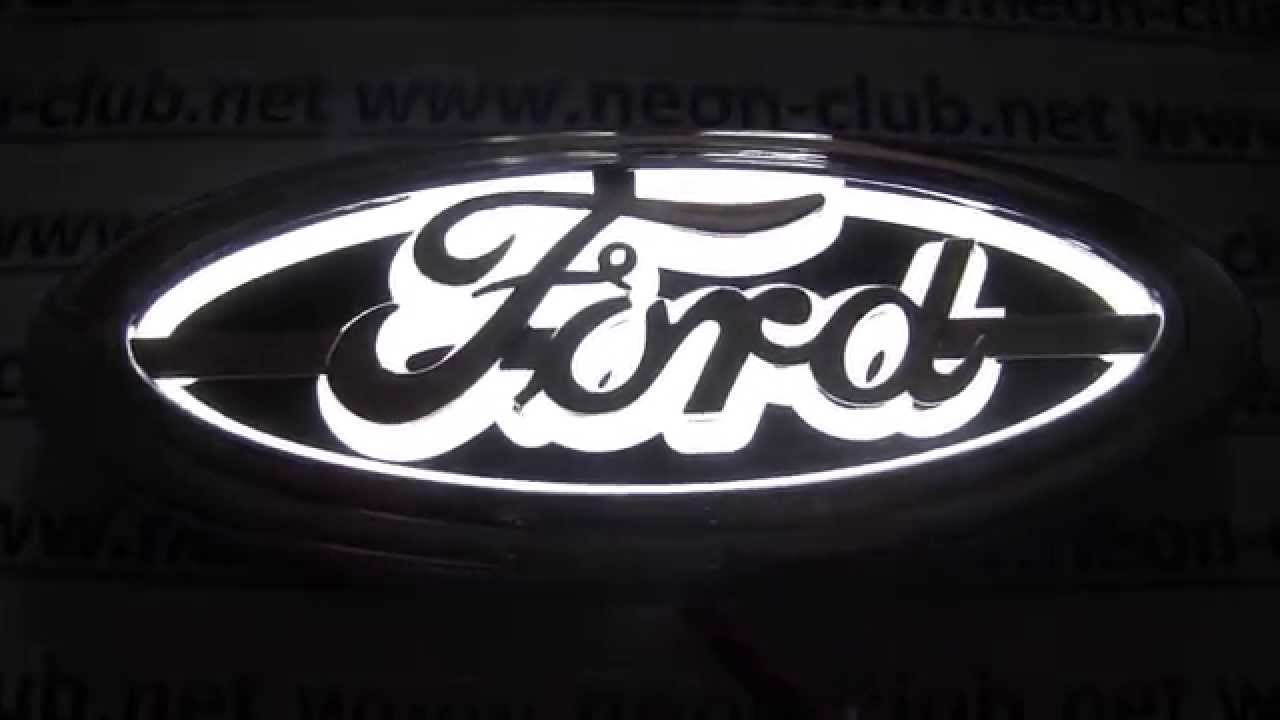 Ford Auto Parts Like Ford Focus Emblem White Led Light