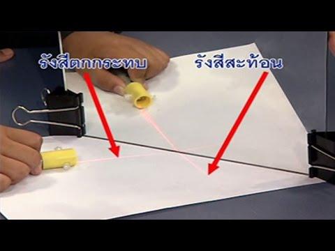 การทดลองการสะท้อนของแสง วิทยาศาสตร์ ป.4