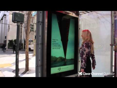 Seagate Interactive Transit Shelter