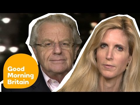 Ann Coulter And Jerry Springer On First Clinton/Trump Presidential Debate | Good Morning Britain