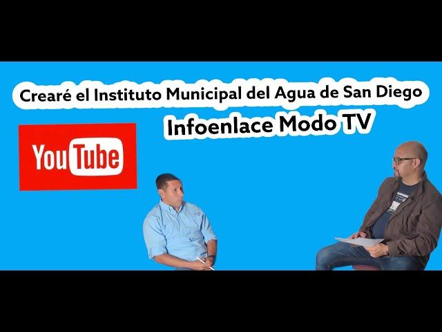 Marcos Campos Flores:''En mí gestión creare el Instituto Municipal del Agua''