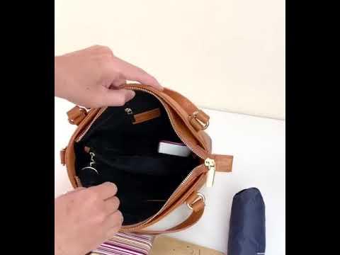 特價‼️兩用手提包「粉紫色」-貝爾尼斯BERNIS