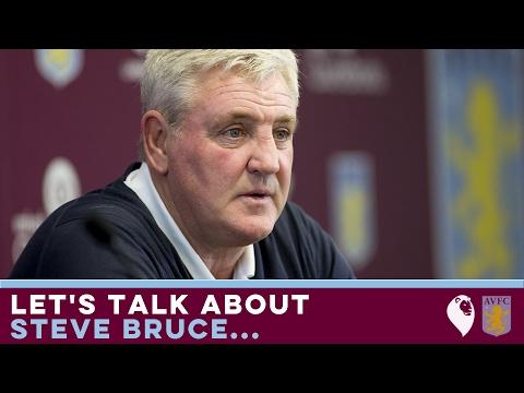 LET'S TALK ABOUT STEVE BRUCE...