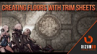 Creating Detailed Floors for Games Using Trim Sheets + Tiling Textures (UE5)