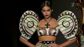 В Милане на Неделе моды представляют коллекции следующего сезона.