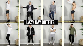 10 LAZY DAY OUTFIT IDEAS | STYLISH & COMFORTABLE - MEN'S FASHION | JAIRWOO