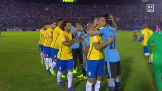 Uruguay vs Brasilien 1:4 ● WM Quali 2018 - Südamerika HD