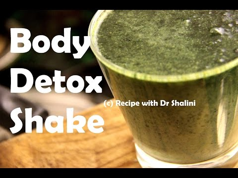 3-days Body Detox Plan | Reduce ur belly fat in 3 days | Super DETOX Green Cleansing Smoothie