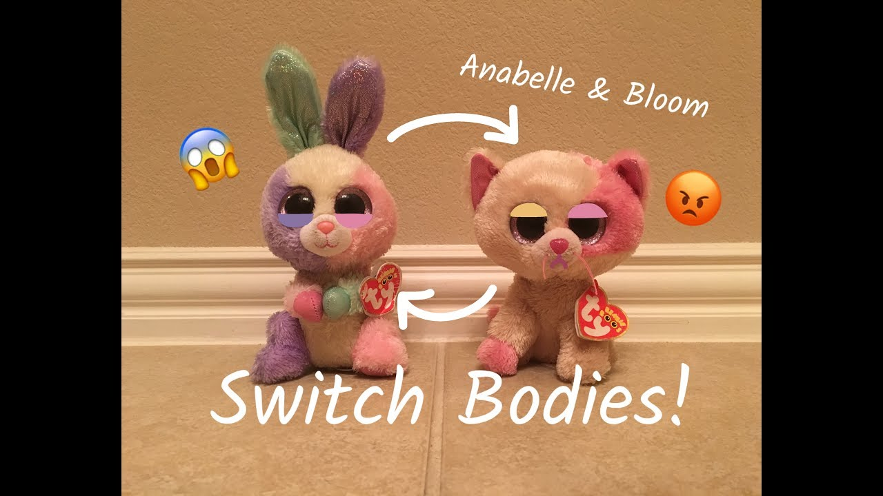 176692f4700 Beanie Boo s  Anabelle   Bloom Switch Bodies! - YouTube