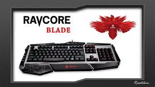 Ravcore Blade - Rzut oka na klawiaturę ze strefowym podświetleniem